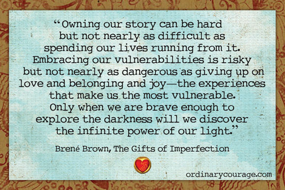 owning our light brene brown